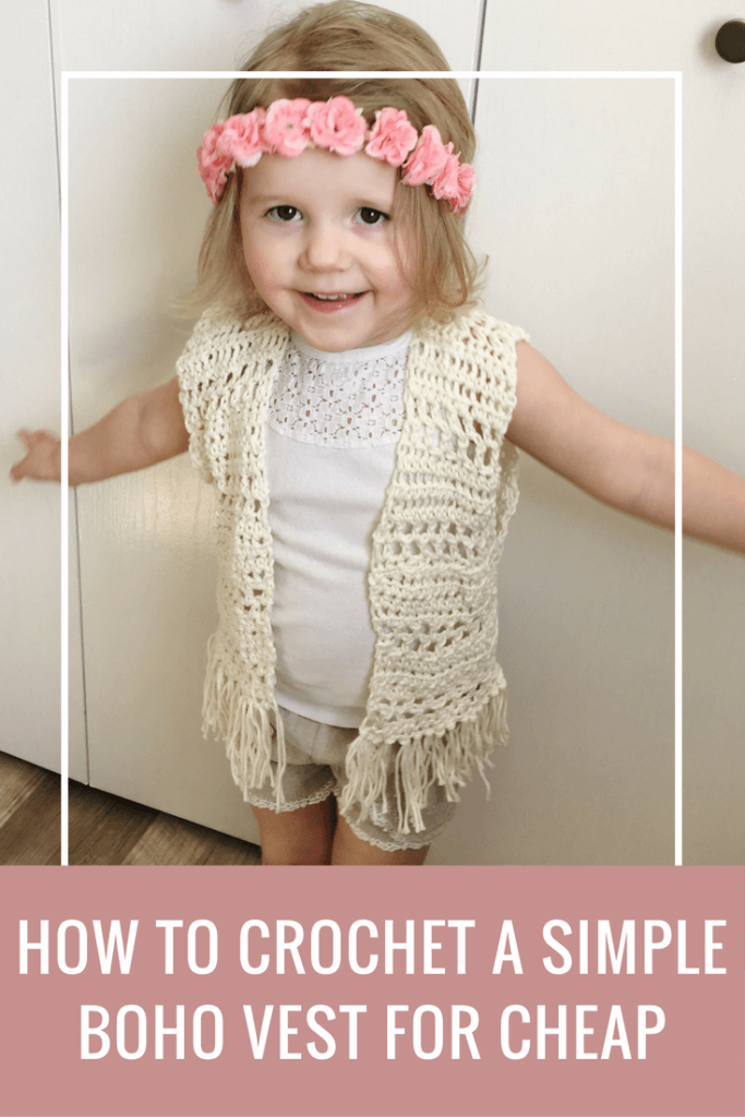 Toddler Crochet Vest Pattern Perfect For Beginners | Blech, Gift und ...