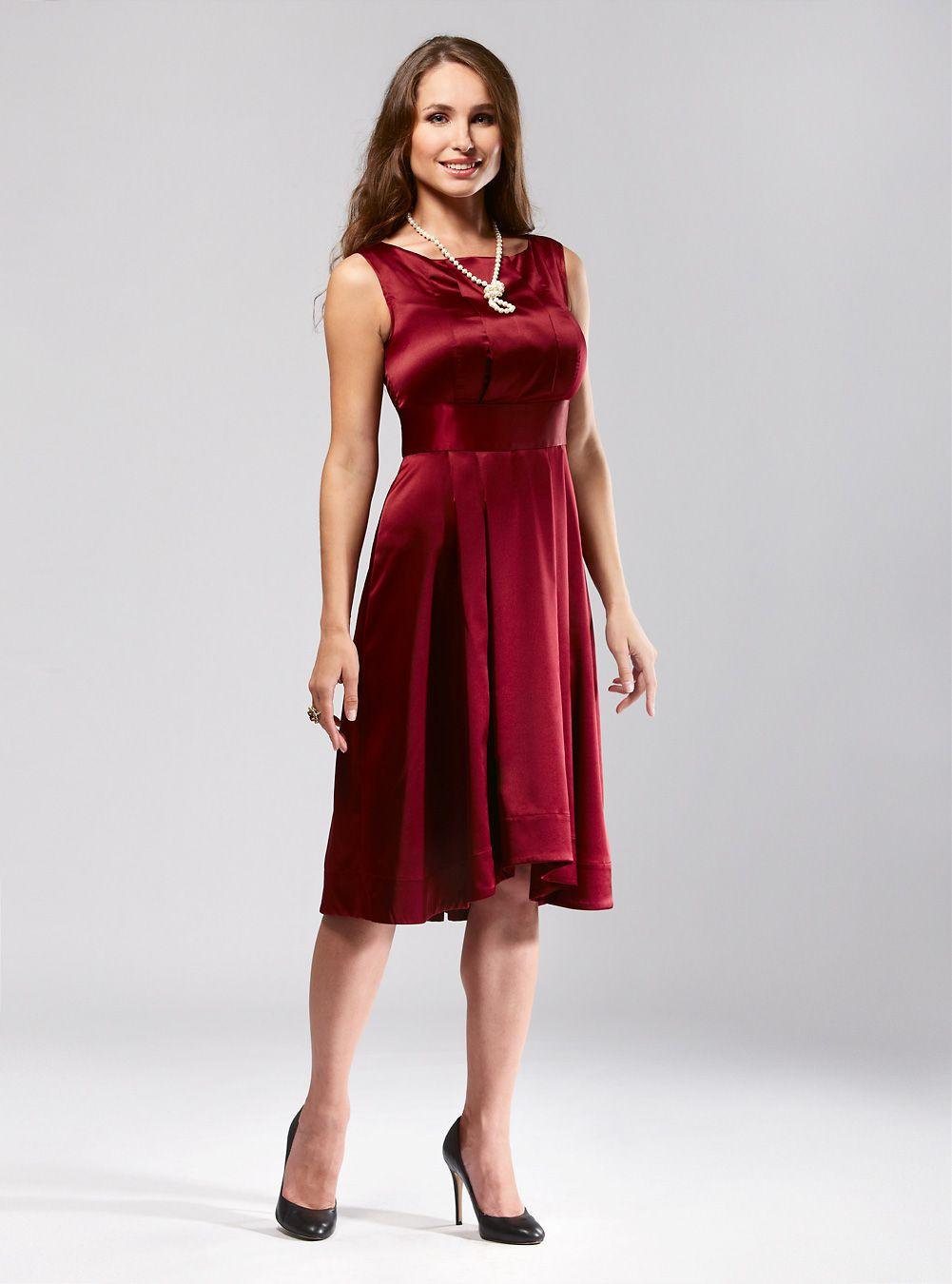 d27b9e6748e Wine coloured evening dress