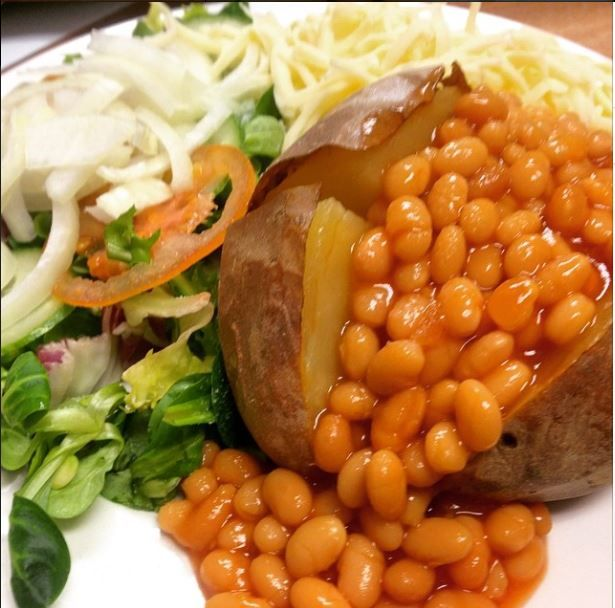 Jacket Potato With Cheese Baked Bean Cafe Images From Rucks To