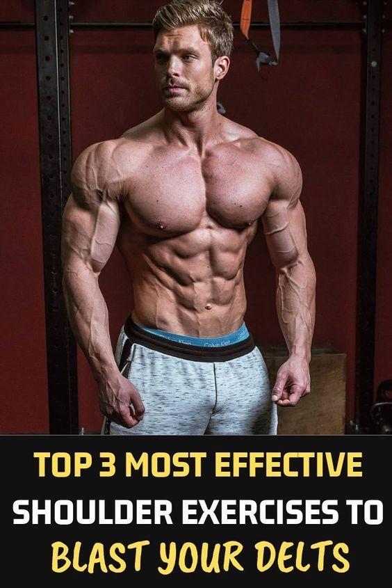10 Best Muscle Building Shoulder Exercises: The Best Workouts Programs: 10 BEST MUSCLE-BUILDING ABS