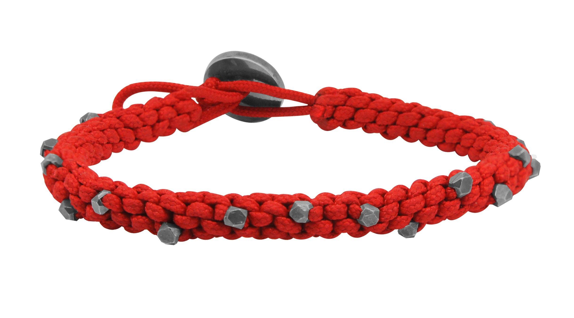 Rope pure oxidised bracelets men gina stewart cox pinterest
