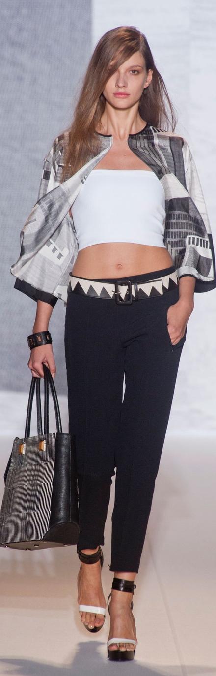 Andrew Gn Spring 2014 ~ Paris Fashion Week