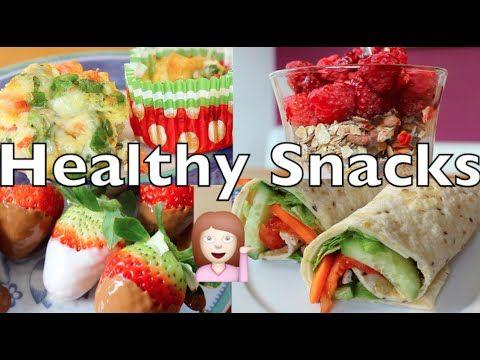 Schnelle gesunde snacks rezepte