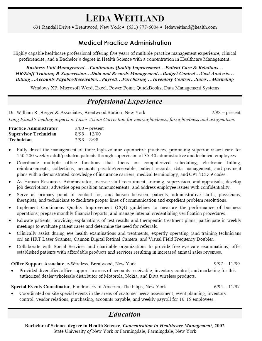Cover Letter Resume Job Writing Examples How Template Physician