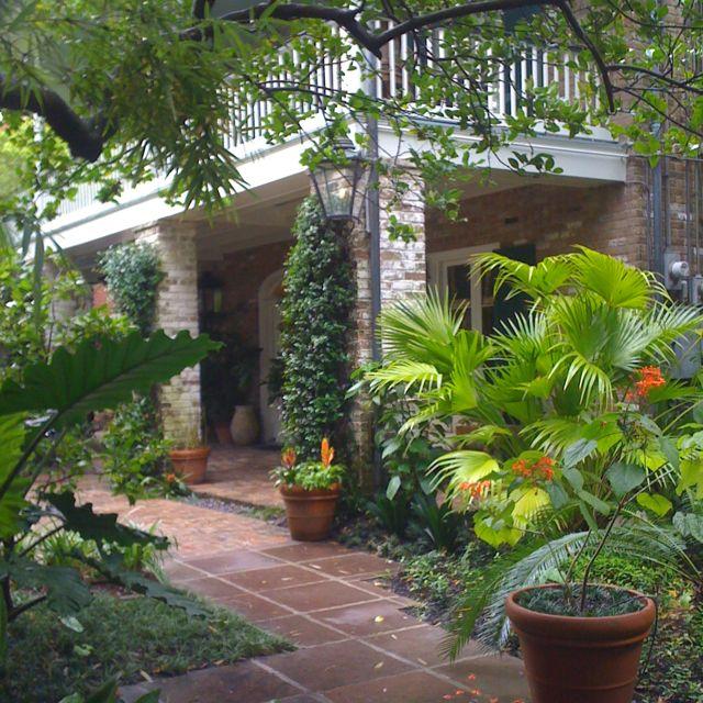 Garden District New Orleans La New Orleans Garden District Garden District Front Courtyard