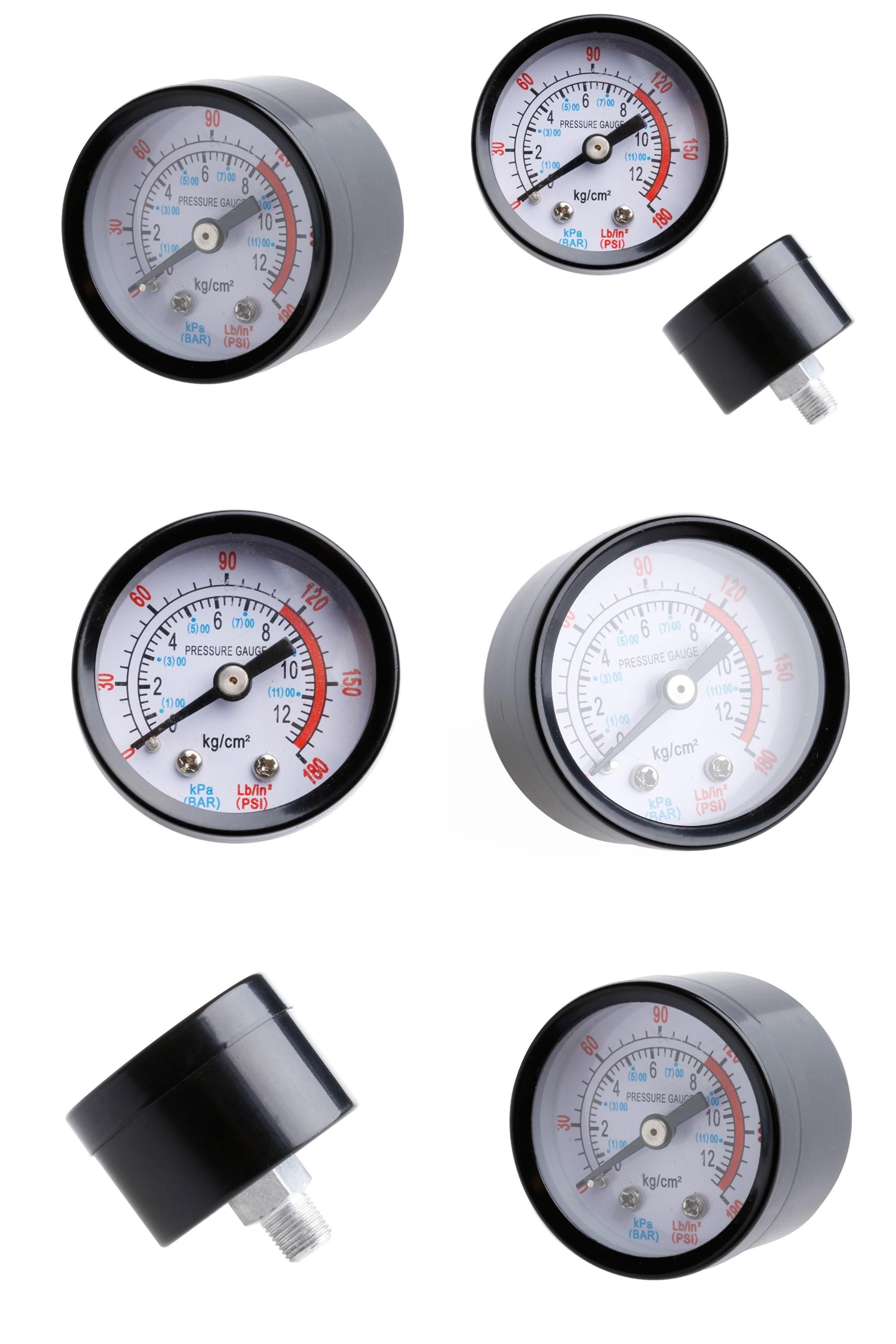 Visit To Buy Air Compressor Pneumatic Hydraulic Fluid Pressure Gauge 0 12bar 0 180psi New Advertisement Hydraulic Fluid Pressure Gauge Air Compressor