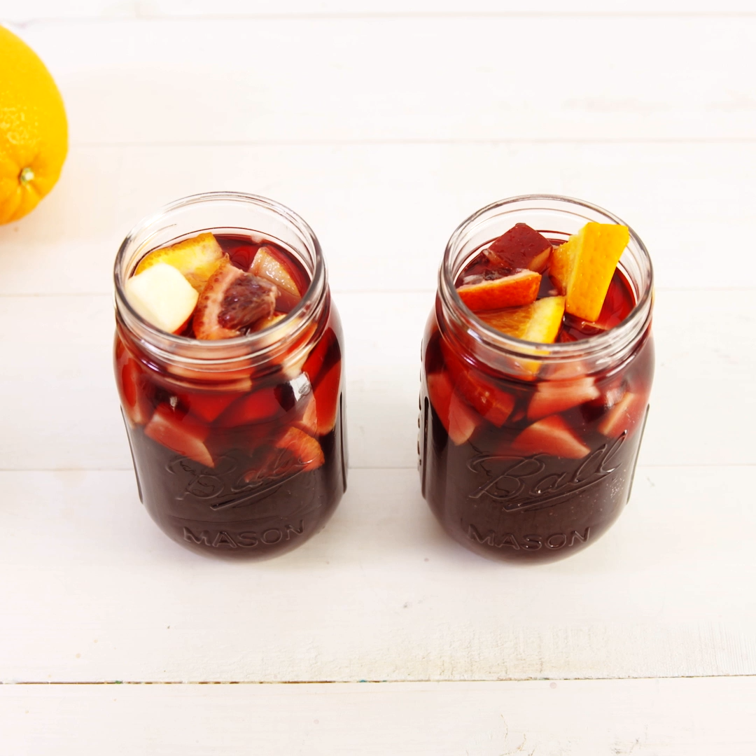 Fireball Sangria Kick your red wine sangria up a notch with some Fireball The cinnamon whiskey is the perfect transition into fall cocktails If you cant find blood orange...