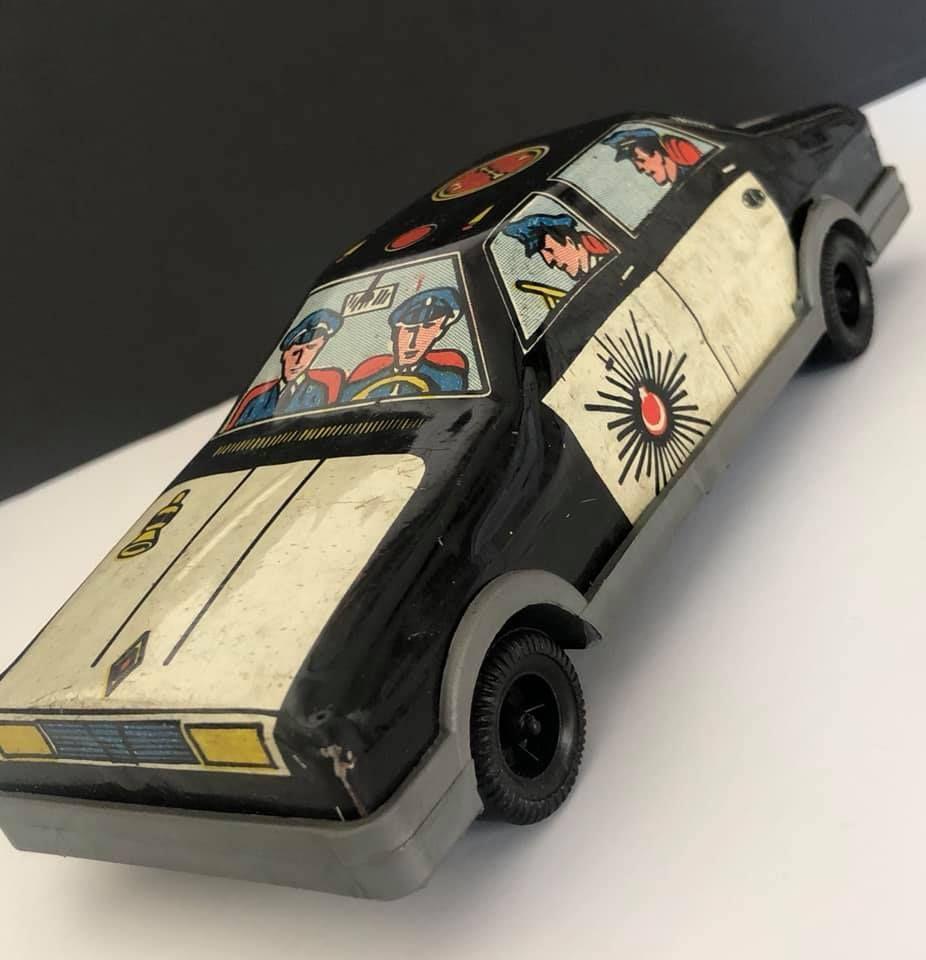 Eskilerden Polis Arabasi Toy Car Nostalgia Car