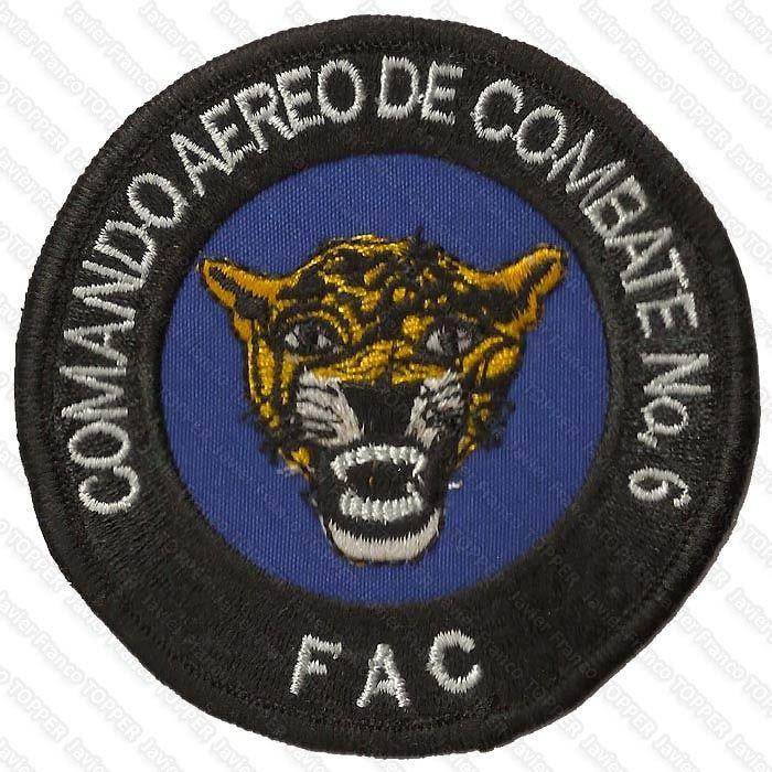 Parche del Comando Aéreo de Combate No. 6, Tres Esquinas AFB, Caquetá