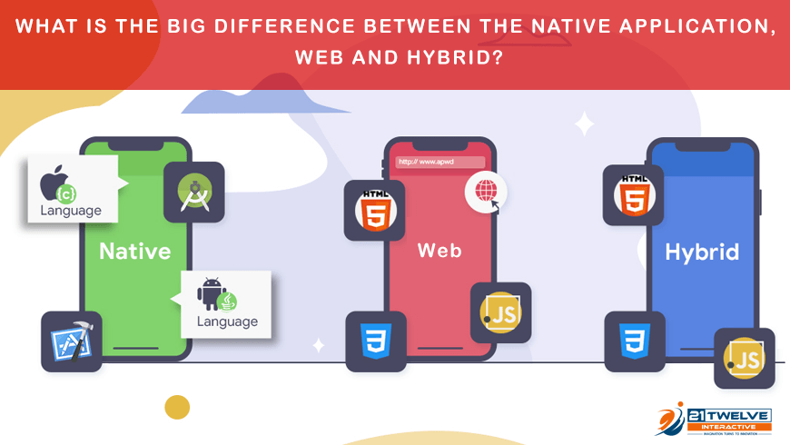 What is the big difference between the native application