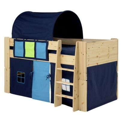 Great Idea For Boys Beds Mid Sleeper Bed White Mid Sleeper
