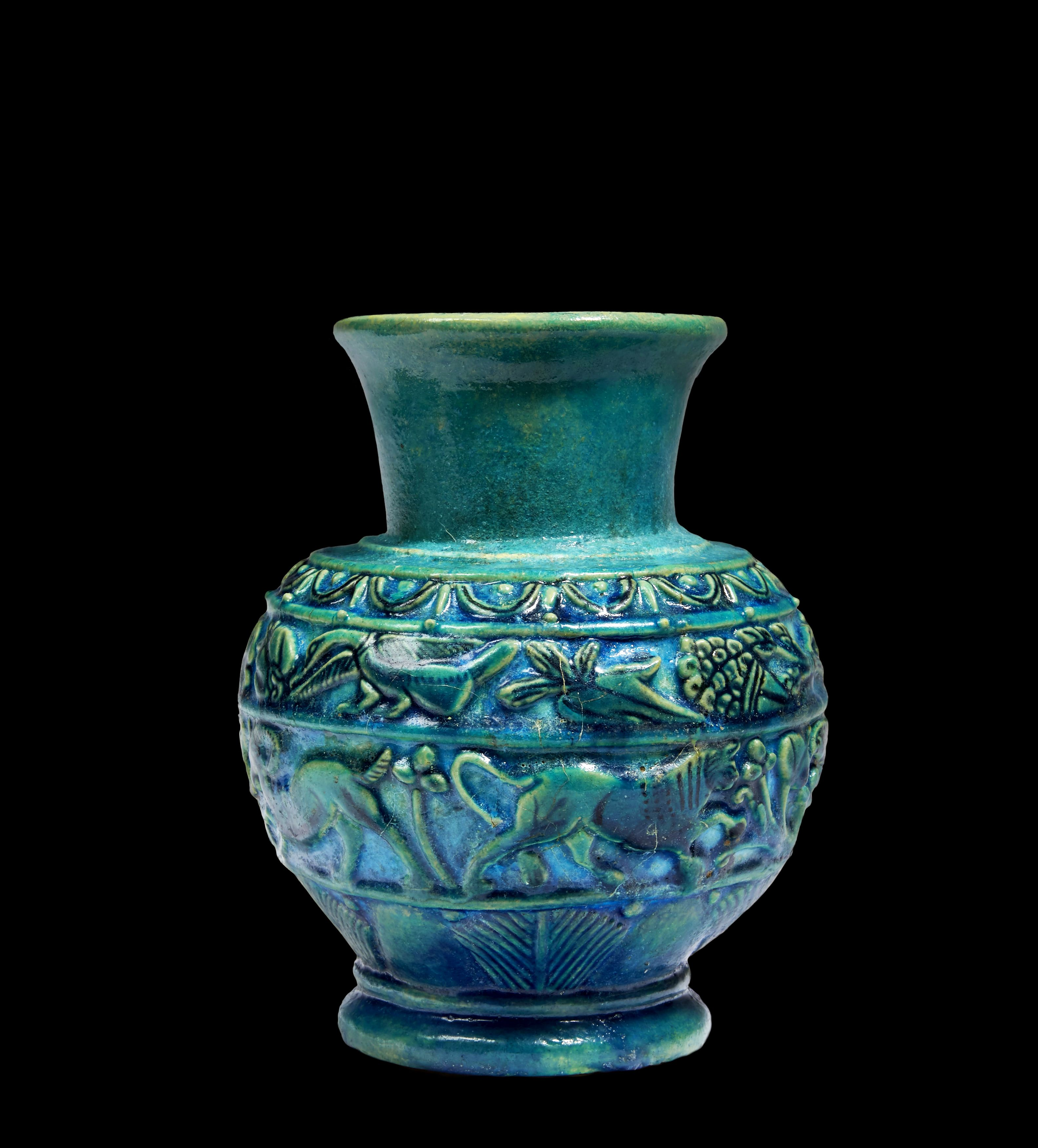 Discover objects of timeless beauty at brafa next week egyptian discover objects of timeless beauty at brafa next week egyptian glazed siliceous earthenware vase from reviewsmspy
