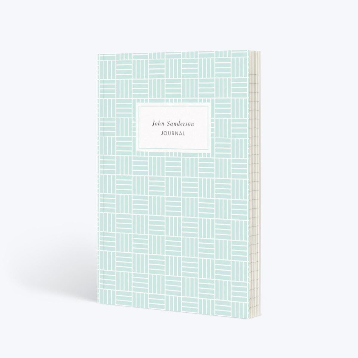 Mint Weave | Notebook