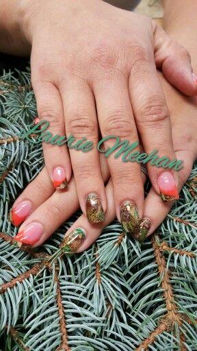 Realtree Camo Acrylic Nails Camo Acrylic Nails Acrylic Nails Nails