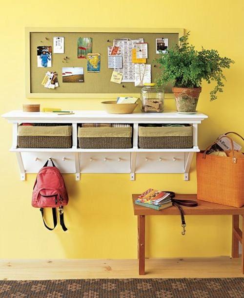 Para tenerlo todo ordenado y a mano for the home for Ideas decoracion recibidor