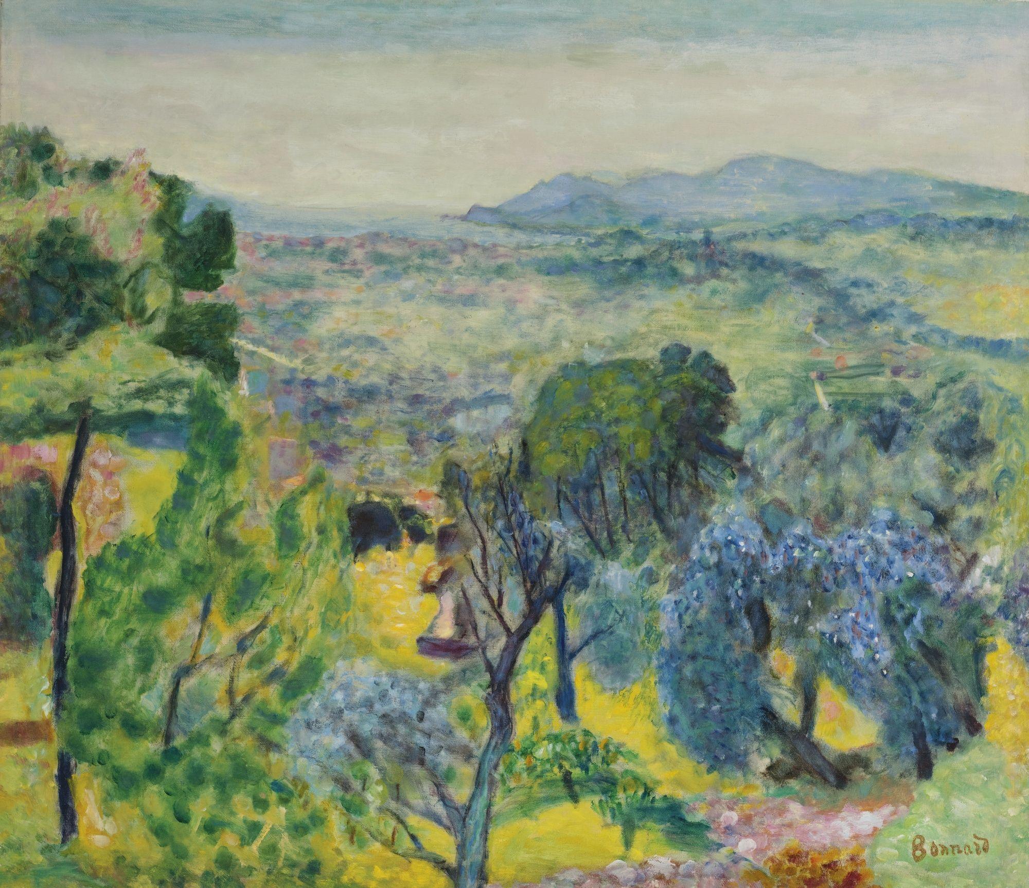 Bonnard google pierre bonnard painting for Paesaggi da disegnare facili