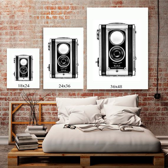 HIPSTER ROOM DECOR Black And White Art Rustic By AtomicAgePrints