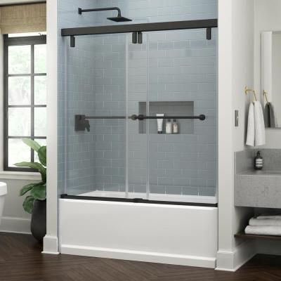 Delta Lyndall 60 X 59 1 4 In Frameless Mod Soft Close Sliding