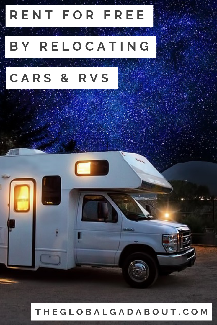 Save On Rentals By Relocating Cars Campers With Images Car Hire Relocation Cruise America