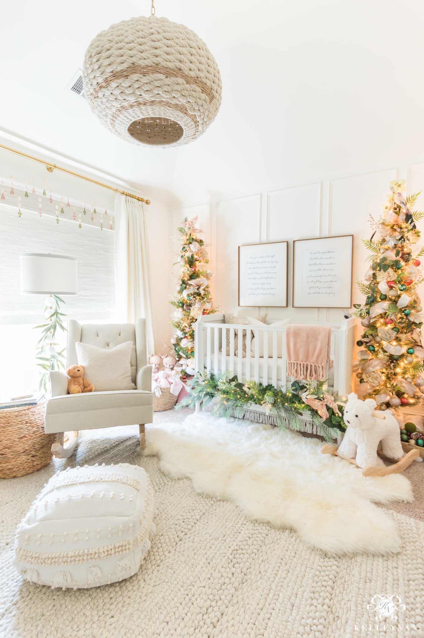 Nursery Christmas Decorations Whimsical Bedroom Ideas Kelley Nan Whimsical Bedroom Christmas Decorations Bedroom Plaid Christmas Decor