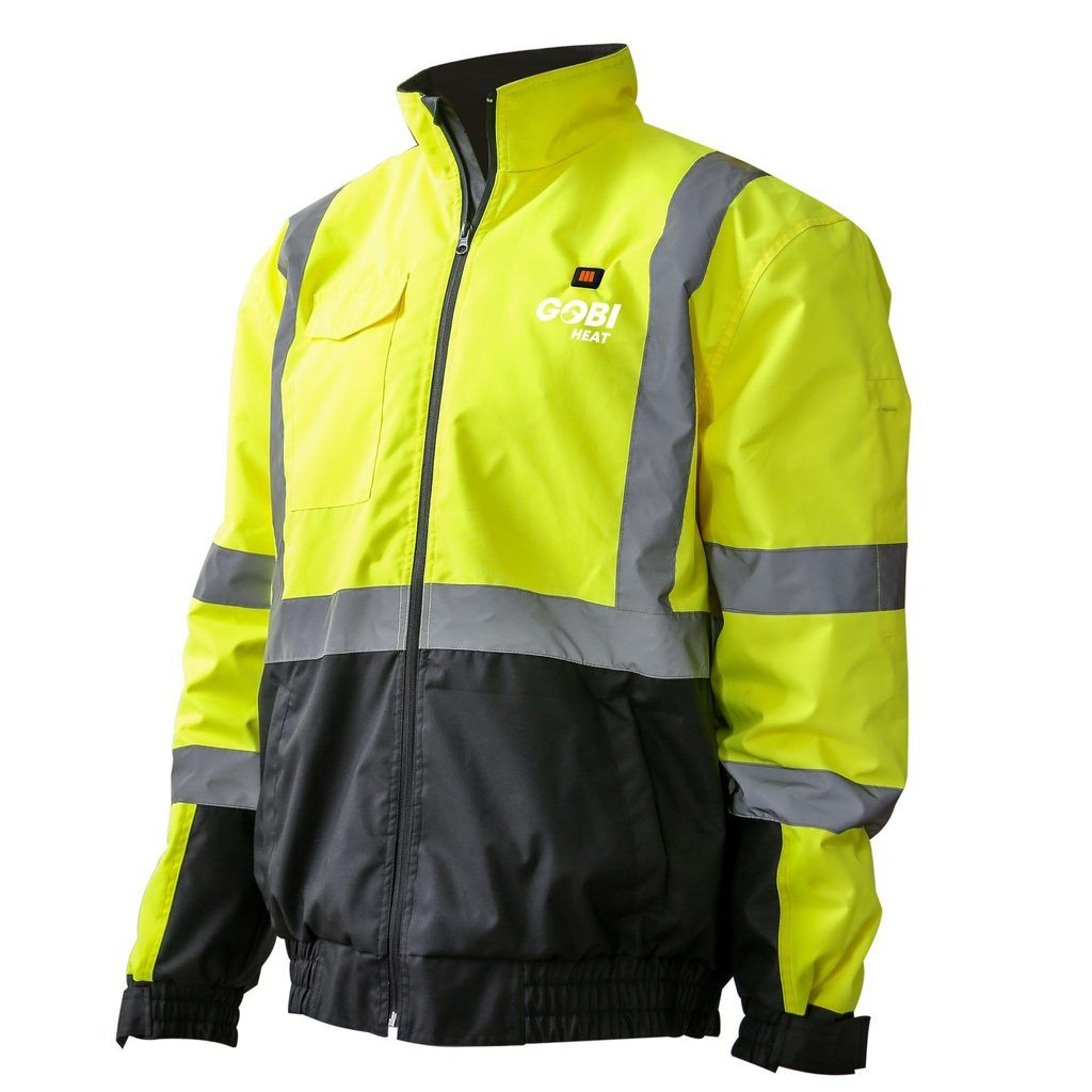 The M12 Cordless High Visibility Heated Jacket 2347 Is Ansi Class Iii Certified To Meet Or Exceed Jobsite And Roa Milwaukee Tools Heated Jacket Cordless Tools