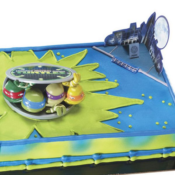 Teenage Mutant Ninja Turtles In Action Decoset Cake Decorating Kit