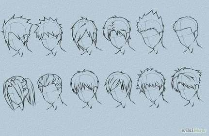 Photo of 15+ Trendy Hair Tutorial Drawing Anime