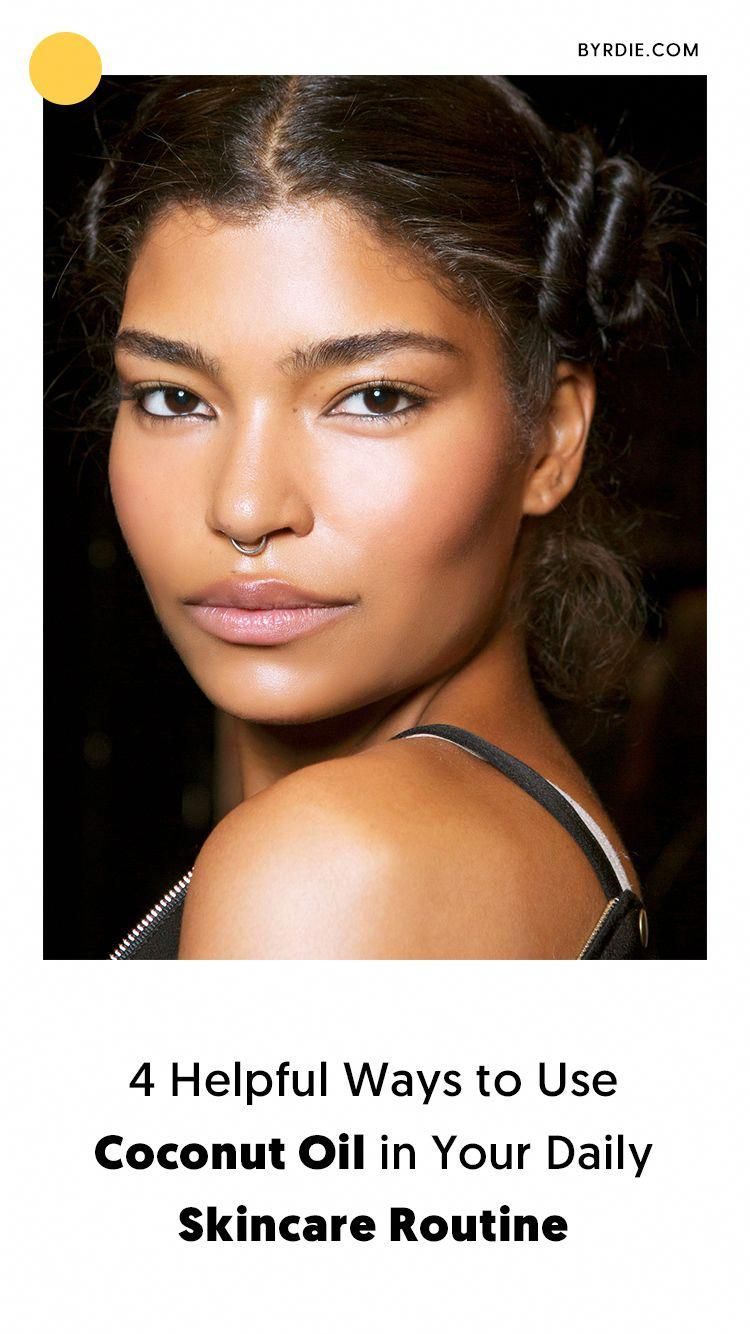 Skin growing over nose piercing  How to use coconut oil on your skin coconutoilonhair  Coconut Oil