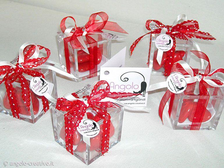 Bomboniera laurea scatolina plexiglass laurea gift for Idee per addobbare festa di laurea