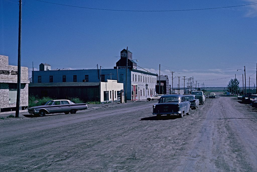 Main street, Morse, Saskatchewan, 1962 | by lreed76