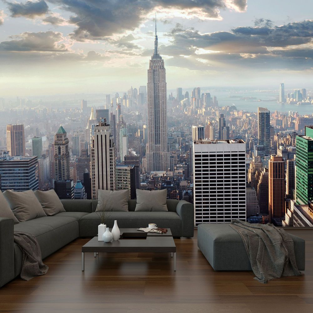 Wall Mural Photo Large New York Sunrise Scene Wallpaper