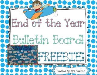 "FREE LESSON - ""End of the Year Bulletin Board FREEBIE!"" - Go to The Best of Teacher Entrepreneurs for this and hundreds of free lessons.  #FreeLesson   #TeachersPayTeachers   #TPT   #EndoftheYear  http://thebestofteacherentrepreneurs.blogspot.com/2013/04/free-misc-lesson-end-of-year-bulletin.html"