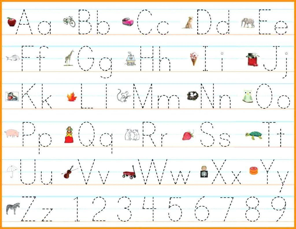 Abc Handwriting Worksheets With Images