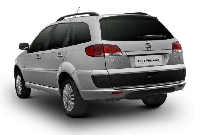 carro novo: Fiat Palio Weekend 2014