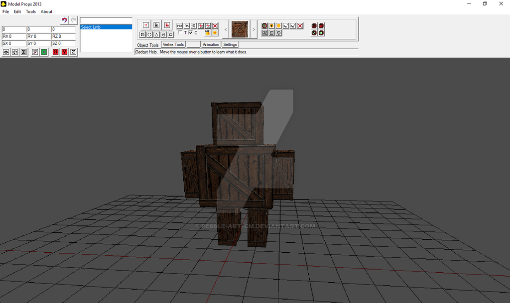 Box Man by Model Props is a very easy 3d animation software