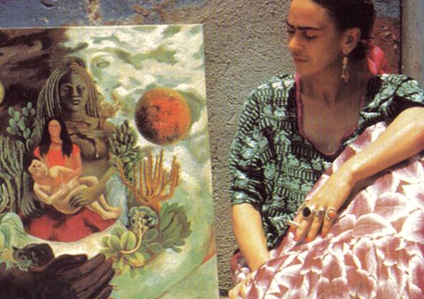 Frida Kahlo, el abrazo de amor de el universo.
