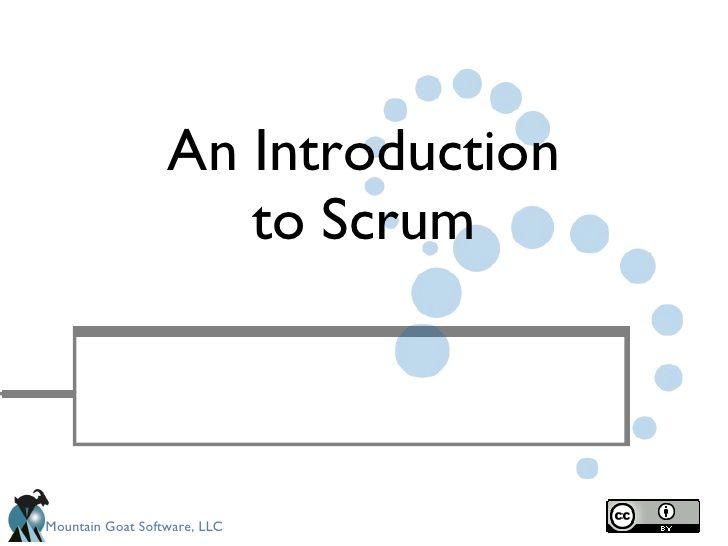 Redistributable Intro To Scrum By Erwin Verweij Via Slideshare