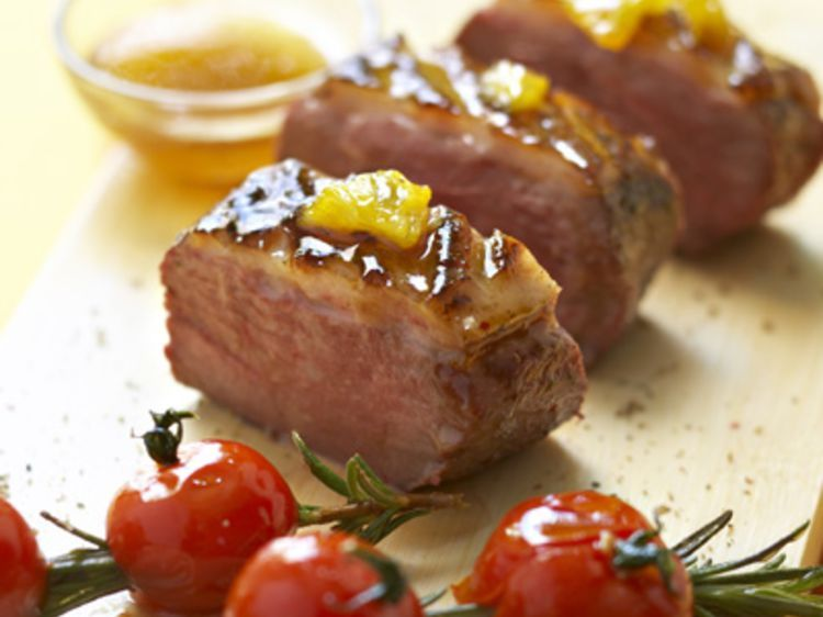 R ussir la cuisson du magret de canard en vid o food - Temps de cuisson magret de canard au four ...