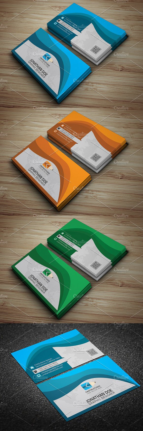 Business Card. Creative Business Card Templates