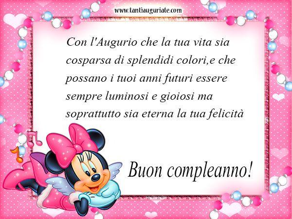 Minnie Mouse Auguri Di Buon Compleanno Auguri Di Buon Compleanno Sorella Auguri Di Buon Compleanno Buon Compleanno