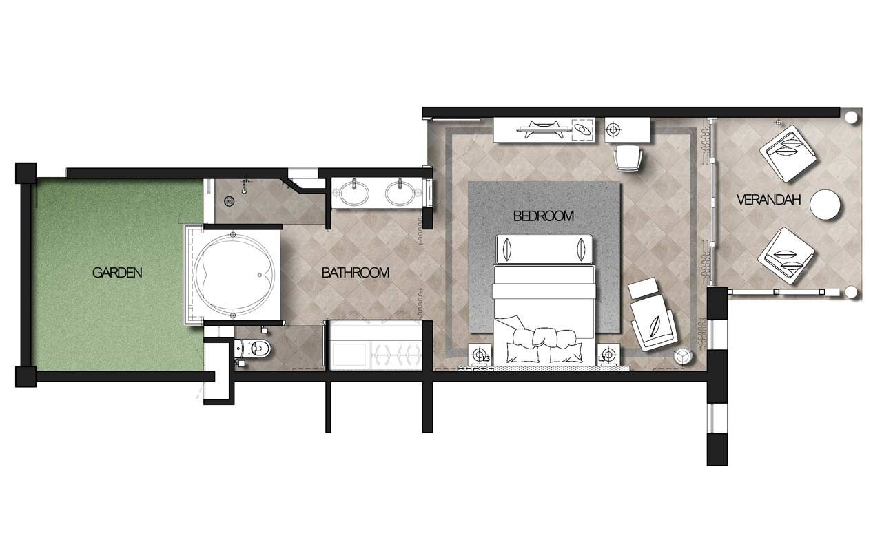 Image Result For Floor Plans Of Hotel Rooms With Private Pools