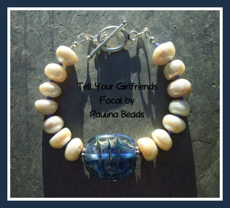 Beaded Bracelets, Pearl Bracelet