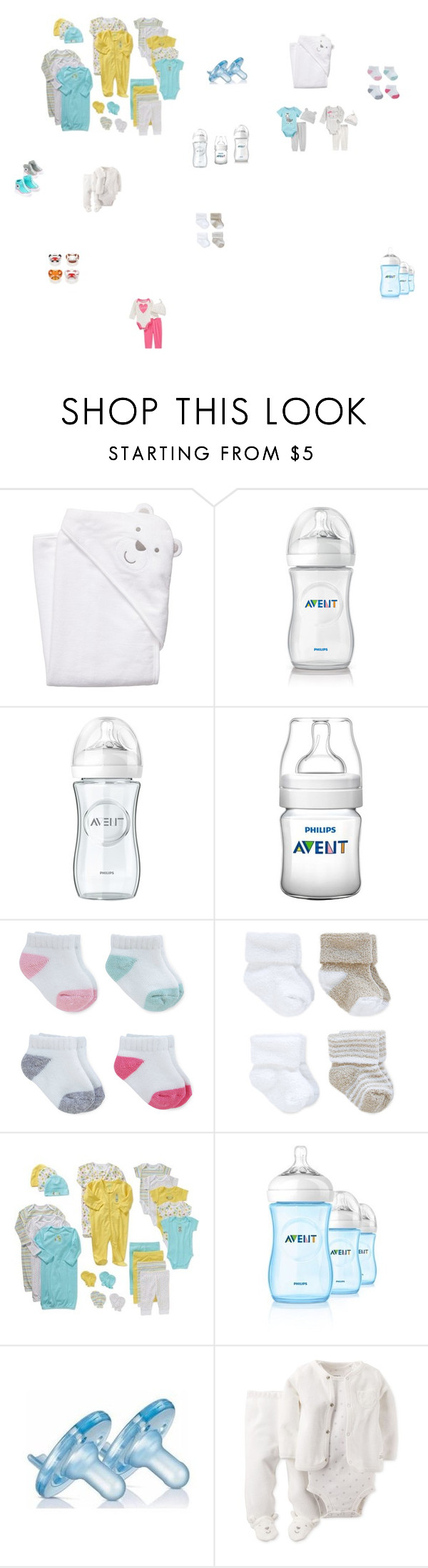 """haul 1(for the baby)"" by maelysa971 on Polyvore featuring mode, Carter's, Philips et Converse"