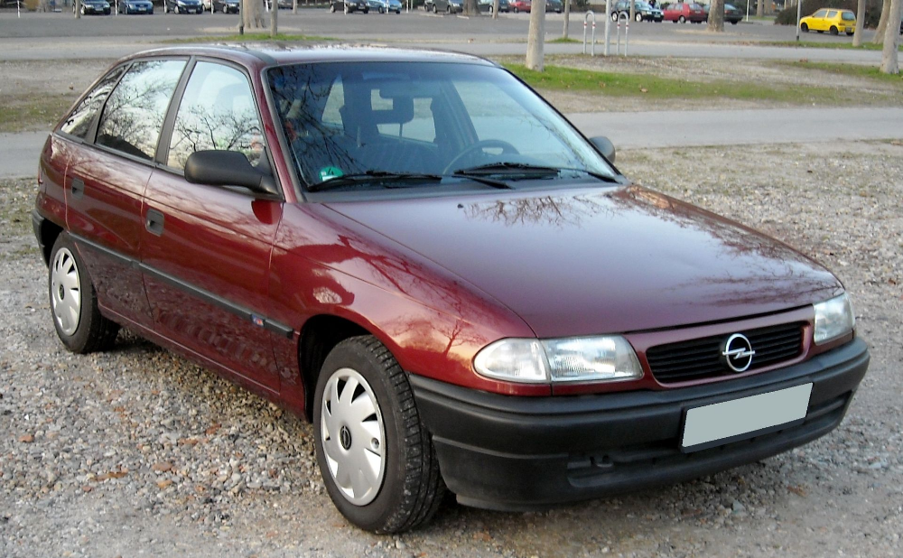 Opel Astra F Front 20081229 List Of Opel Vehicles Wikipedia Opel Vehicles Car