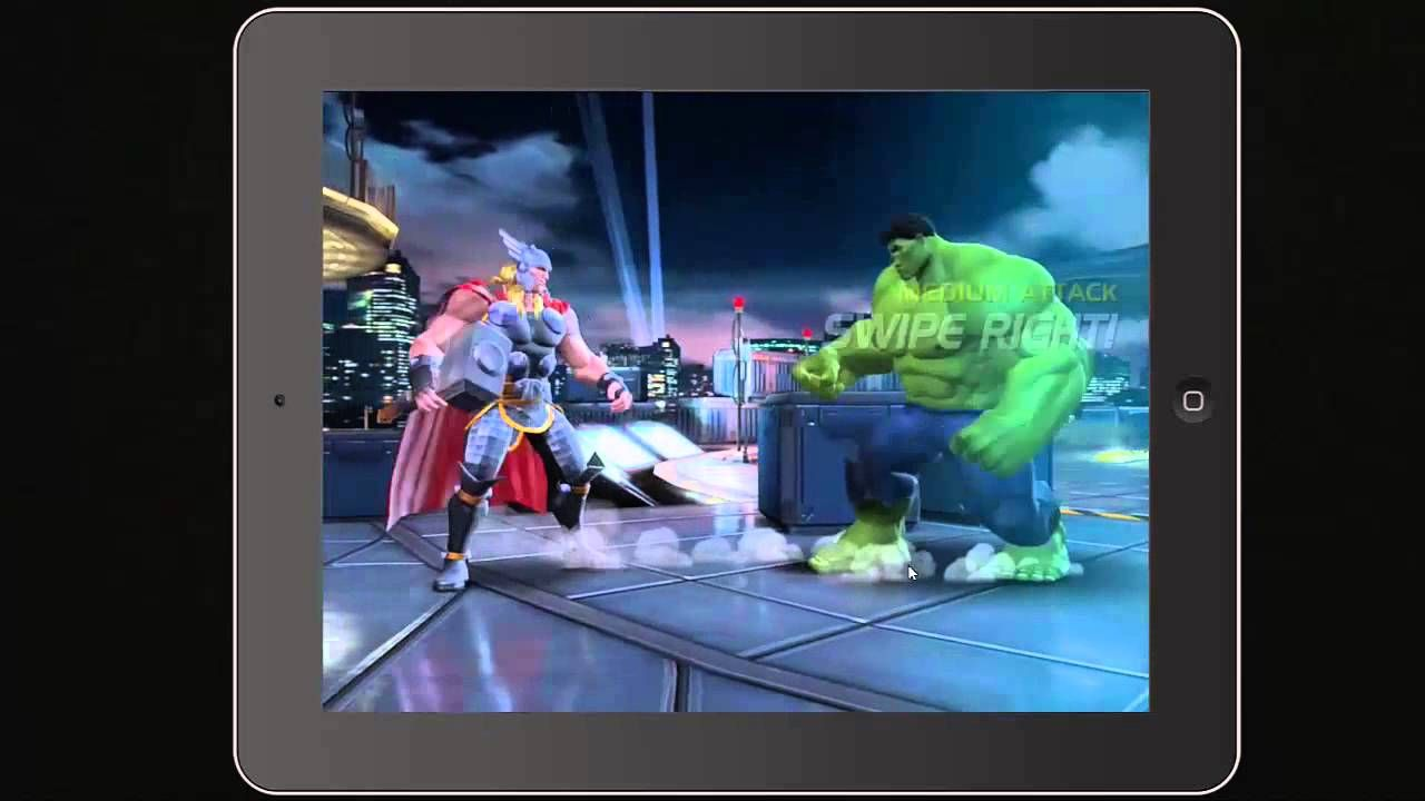 Marvel Contest of Champions Game Preview for Ipad or