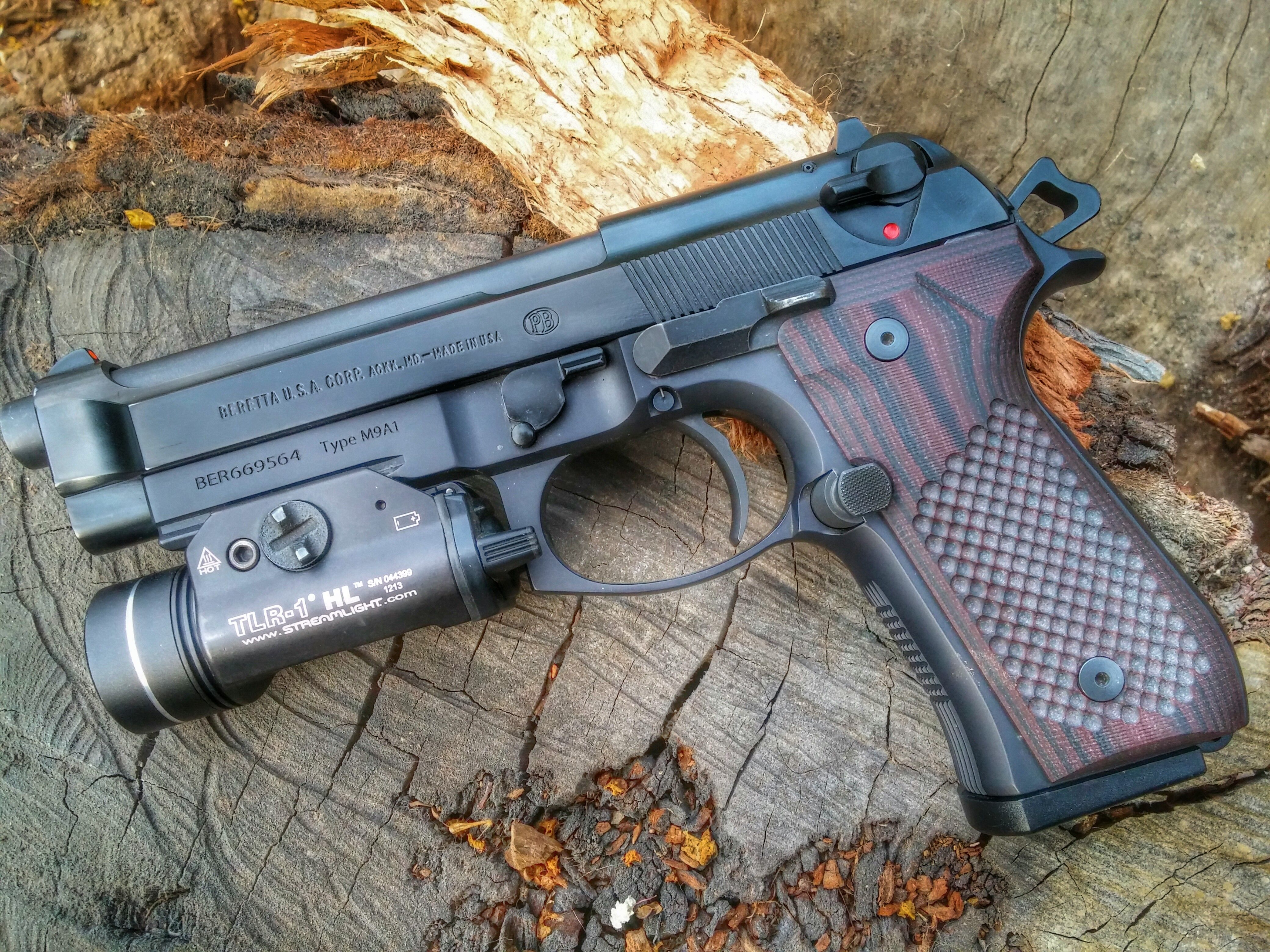 Beretta M9A1 with TLR-1HL