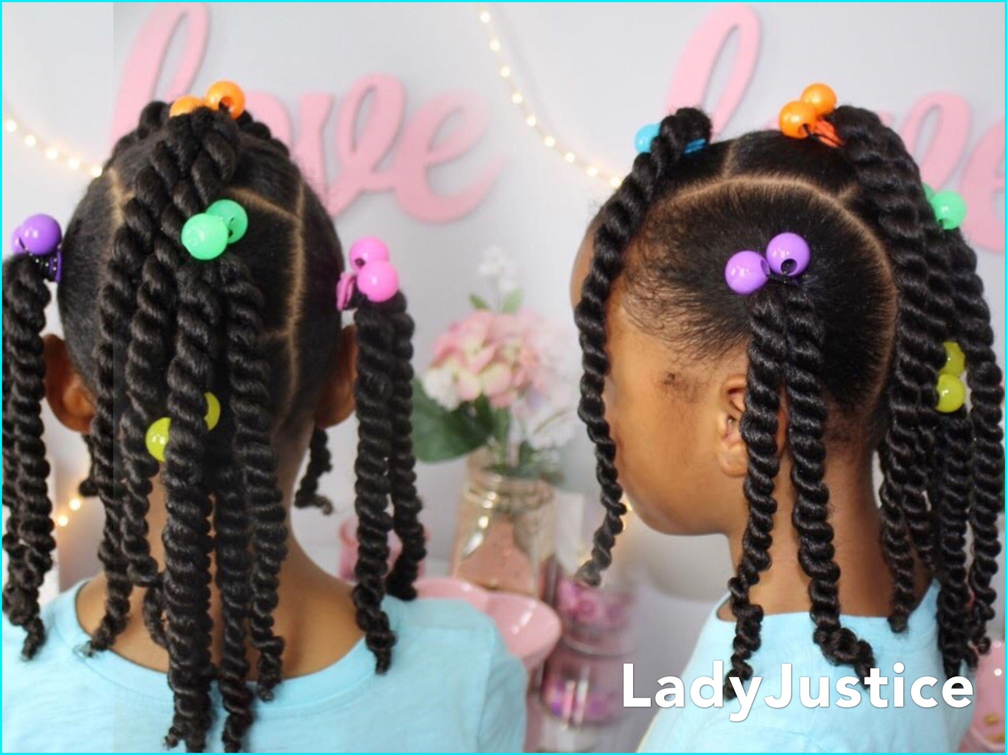 Easy Ponytails For Little Girls Full Tutorial Linked