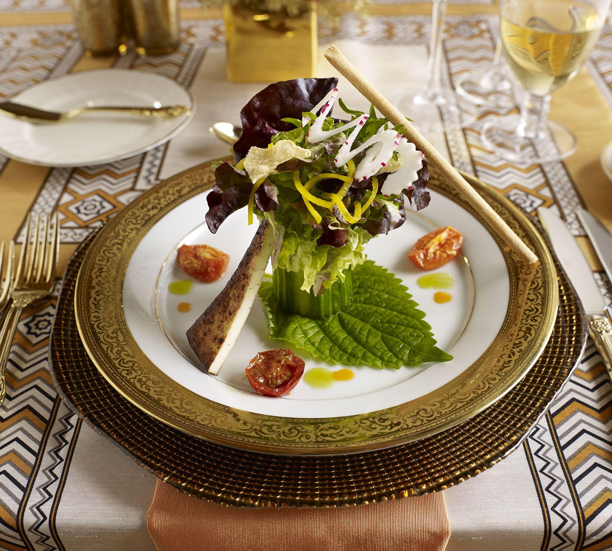 South Indian Wedding Food Menu: Modern Indian Wedding Salad With Paneer By Www