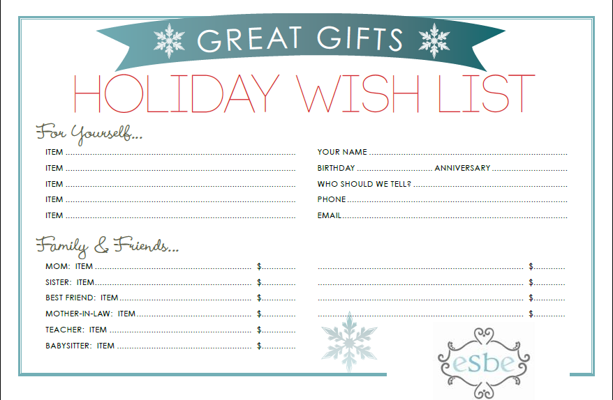 You can make your WISH LIST with me, and I can contact ...