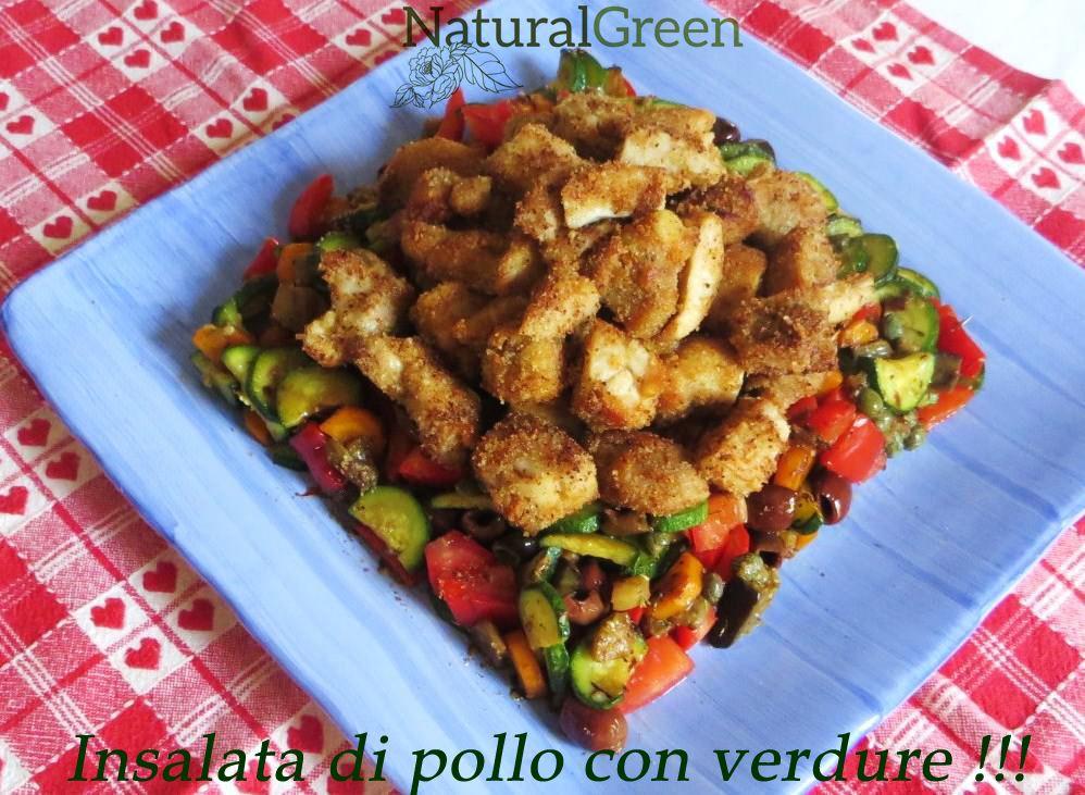 Occorrenti (4 persone): 600 gr di petto di pollo; 2 carote; 3 zucchine; 25…